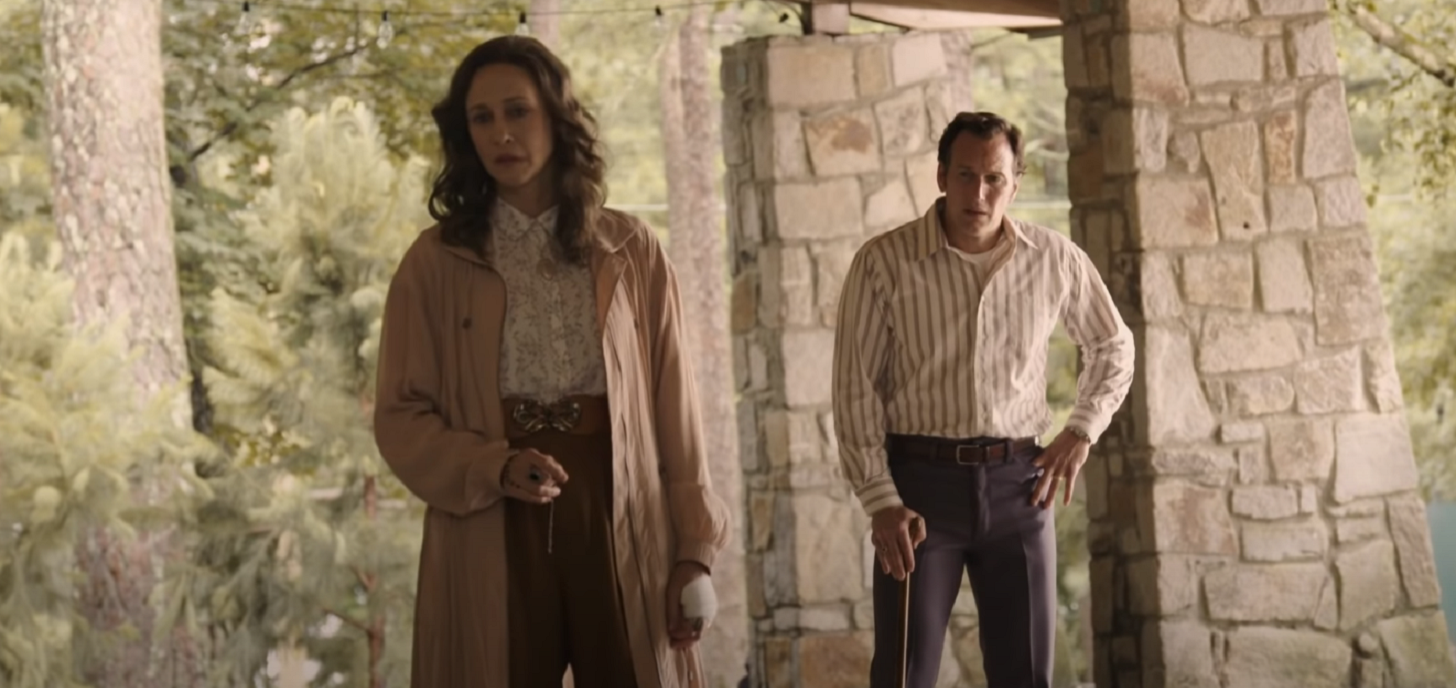 Now Showing: The Conjuring: The Devil Made Me Do